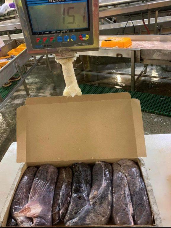 阿拉斯加太平洋真鳕黑鱼籽