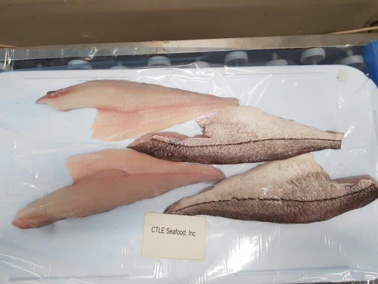 黑线鳕鱼片冷冻